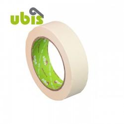 Cinta adhesiva crepé UBIS 30mm x 45m - Caja 60 uds