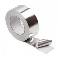 Cinta adhesiva aluminio 50mm x 45 metros - Caja 24 uds