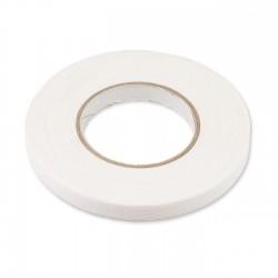Cinta adhesiva costura trama blanca 15mm x 50m