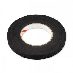 Cinta adhesiva costura trama negra 15mm x 50m