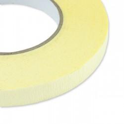 Cinta papel rugoso amarillo 15mm x 50m