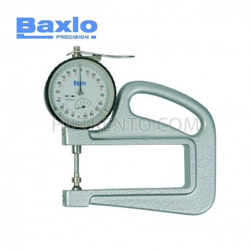 Micrómetro ref.4006 0-5mm / 0.001mm escote 100mm