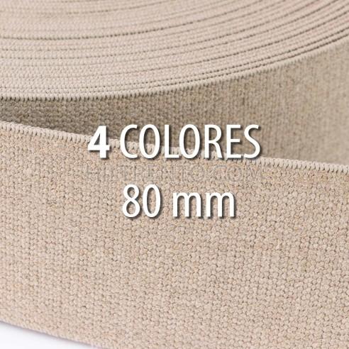 Elástico lino 30 mm - Rollo 25 metros