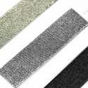 Elástico metalizado lino 30mm - Rollo 25 metros