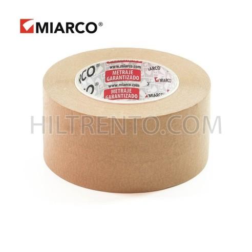 Cinta ecológica papel habana kraft 72mm x 80m - Caja 24 uds