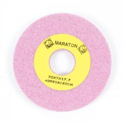 Piedra rebajado afilar rosa 70x7x17.7 mm