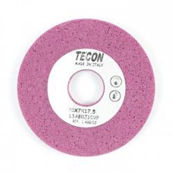 Piedra rebajado afilar rosa porosa 70x7x17.5 mm
