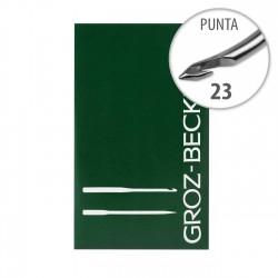 Aguja Groz-Beckert HN 82/ 50.225. 23 G 2 6002 NO. 43 - 10 uds