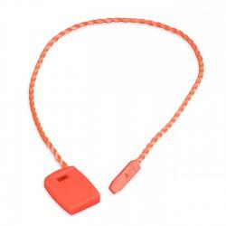 Marchamo plano naranja fluor - 1000 uds