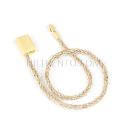 Marchamo hilo cuerda crema - 1000 uds