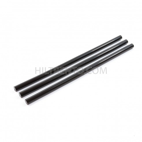Barras silicona negra 12 mm (Caja 5 Kg)