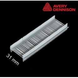 Navete nylon 31 mm T-End Avery Dennison - 2500 uds