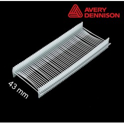 Navete nylon 43 mm T-End Avery Dennison - 2500 uds