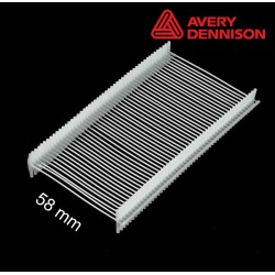 Navete nylon 58 mm T-End Avery Dennison - 2500 uds
