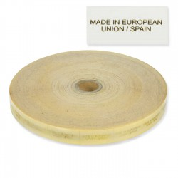 "Etiquetas transparentes ""Made in European Union"" 20x60 mm - Rollo 5000 unidades"