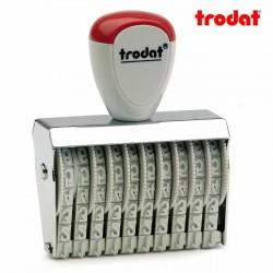 Sello numerador manual 5 mm 10 dígitos Trodat classic 15510
