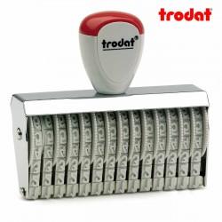 Sello numerador manual 5 mm 14 dígitos Trodat classic 15514