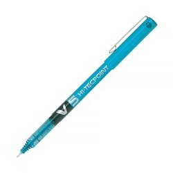 Bolígrafo PILOT V5 Azul claro - Caja 12 uds