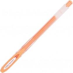 Bolígrafo resistente al agua Uniball Signo Gel UM-120AC naranja - Caja 12 uds