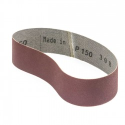 Banda de lija tela roja 435x35 mm grano 150 - Pack 10 uds
