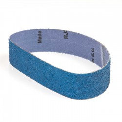 Banda de lija tela azul 435x35 mm grano 36 - Pack 10 uds