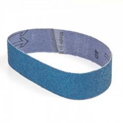 Banda de lija tela azul 435x35 mm grano 40 - x10 uds