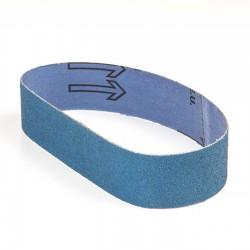 Banda de lija tela azul 435x35 mm grano 60 - x10 uds