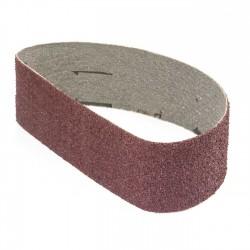 Banda de lija tela roja 471x50 mm grano 36 - Pack 10 uds