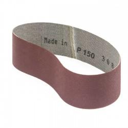 Banda de lija tela roja 471x50 mm grano 150 - Pack 10 uds