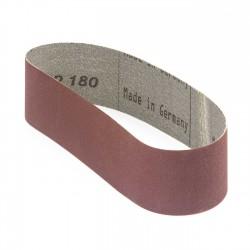 Banda de lija tela roja 471x50 mm grano 180 - Pack 10 uds