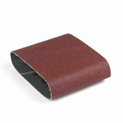Banda de lija tela roja 285x110 mm grano 60 - Pack 10 uds