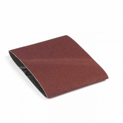 Banda de lija tela roja 285x110 mm grano 80 - Pack 10 uds