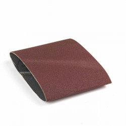 Banda de lija tela roja 285x110 mm grano 100 - Pack 10 uds
