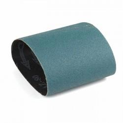 Banda de lija tela azul 285x110 mm grano 80 - Pack 10 uds