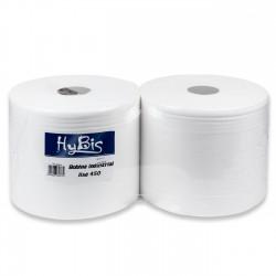 Papel higiénico industrial grande 200 mm - Pack 2 rollos