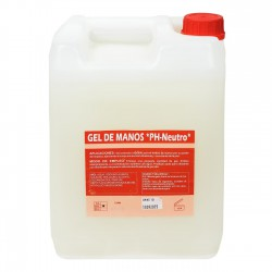 Gel de manos industrial nácar PH neutro - Bidón 10 Litros