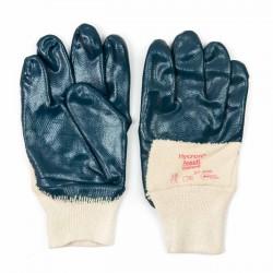 Guantes seguridad nitrilo-algodón Hycron Ansell 27-600
