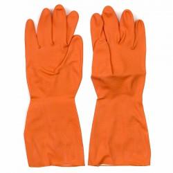 Guantes monocolor menaje naranja igartex
