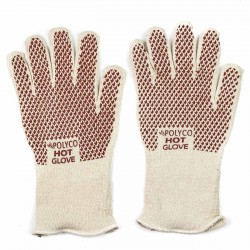 Guantes anti calor puntos nitrilo Polyco Hot glove 9011