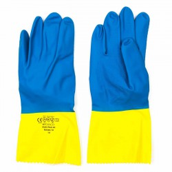 Guantes látex reforzado flockado en algodón Polyco Duo plus 60