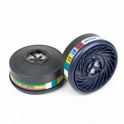 Filtro máscara gases y vapores Moldex 9400 A1B1E1K1 - Caja 10 uds