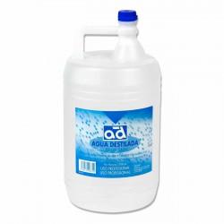 Agua destilada desionizada industrial - Botella 5 litros