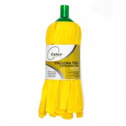 Fregona de tiras amarilla profesional Celea