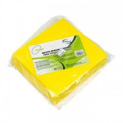 Bayeta limpieza fibra amarilla especial multiusos - Pack 10 uds