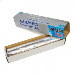 Rollo aluminio comercial alimentario 30 cm x 300 mts
