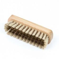 Cepillo manual latón-sintético sin mango para ante