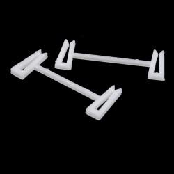 Pinza fijador sandalia blanco - Pack 1000 uds