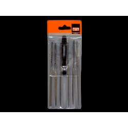 Juego de limas de aguja 160 mm