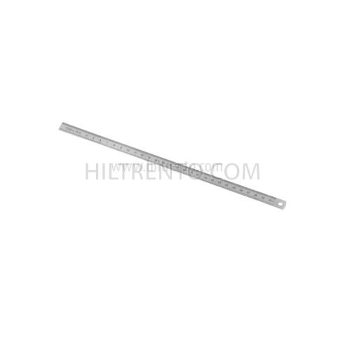 Regla metálica flexible 30 cm