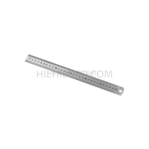 Regla metálica semi rigida 30 cm